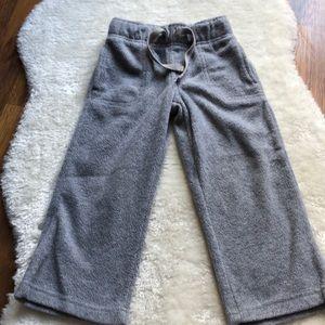 Old Navy boys fleece loose jogging pants 3T
